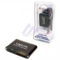 LogiLink Externe All-in-One Kaartlezer, USB 2.0, SDHC, Zwart aluminium