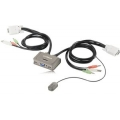 KVM Switch Edimax 2 poort USB keybord/Mouse