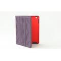 iPad hoesje paars en zwart