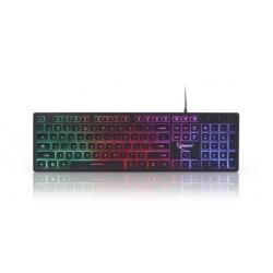 """Multimedia toetsenbord """"Rainbow"""" met BackLight"""