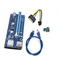 Riser 006C Powered USB 3.0 PCI Express Extender Cable
