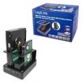Logilink Dual SATA Quickport USB 2.0/eSATA (OTB&Clone) [QP0009]