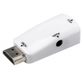 HDMI Male To VGA Female Adapter with Audio,no need extra power