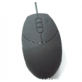 IP 65 Waterproof USB Silicone Medical Mouse, Black