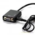 Micro HDMI Male To VGA Female Adapter