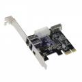 PCIe FireWire Kaart 3+1 poort [PCE1394]