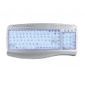 Sansun SN-163 US Keyboard Multimedia verlichting PS2 + USB adapter