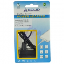 """""""Solid"""" Brand new adapter for Yarvik, POV, Flytouch Tablet PC 5V 2A 2.5*0.8mm"""