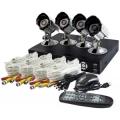 SUMVISION SV-244S 4 CHANNEL H.264 DVR CCTV CAMERA SYSTEM